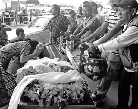 Driving coffin vans a heartbreaking job