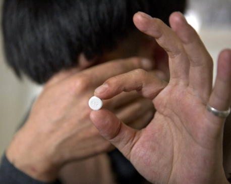 China has pain pill addicts too, but no one's counting them