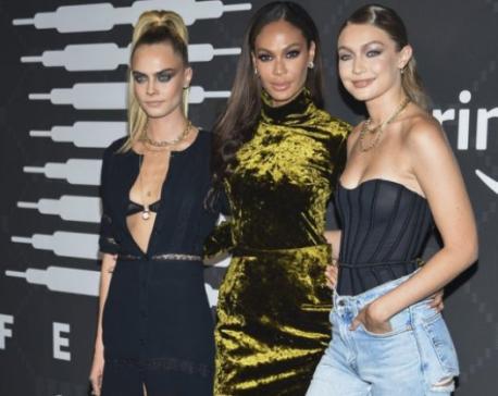 Big Sean, Halsey, Migos rock Rihanna's lingerie fashion show