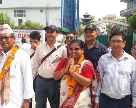 UML clinches mayoral and deputy mayoral posts in Itahari Sub-metropolitan City
