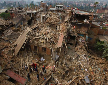115,000 houses surveyed in Kathmandu Valley