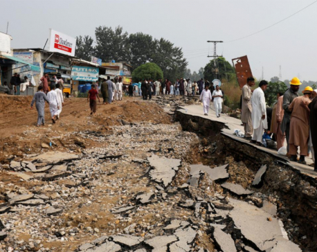 Death toll from Pakistan earthquake rises to 37 - local official