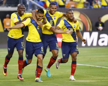 Ecuador beat Haiti, advance to Copa quaterfinals