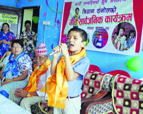 Eight-year-old releases song on birthday