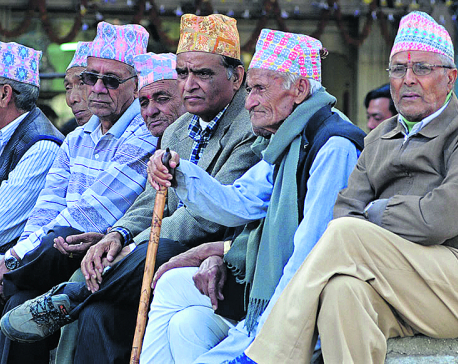 PM Oli announces to raise elderly allowance from next fiscal year