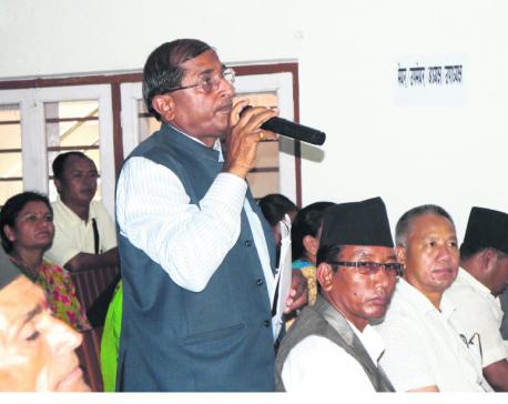 Elected local representatives in Gorkha rap NRA