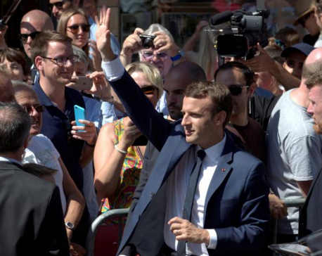 Macron's party set for huge French parliamentary majority