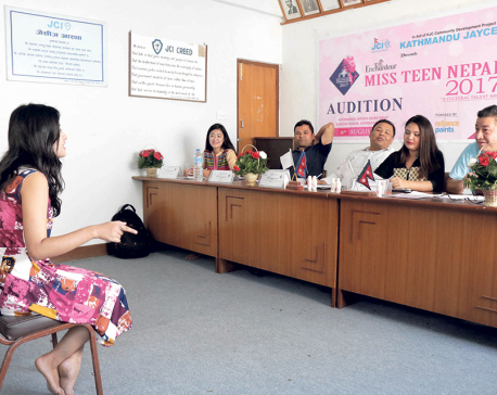Enchanter Miss Teen Nepal completes second audition