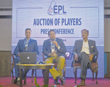 Everest Premier League's auction held