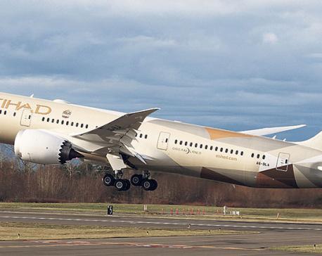 Etihad Airways to operate Boeing 787 Dreamliner for Geneva flights