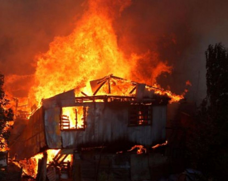 Fire destroys 25 houses in Gothigaun of Jumla