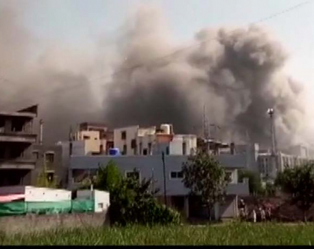 Fire at building site for India's Serum Institute, vaccine output not hit, source says
