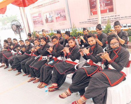 Newar group contributes to flourishing of flute culture
