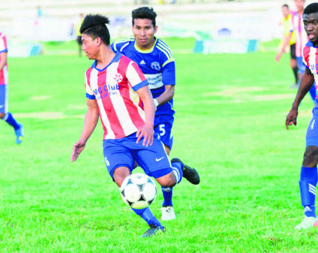 Sankata in Bishal Memorial Gold Cup final