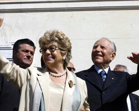 Former premier and Italian president  dies at 95