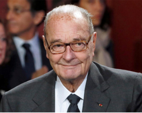 Former French President Chirac has died, confirms son-in-law