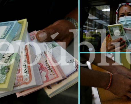 IN PHOTOS: People exchanging old banknotes with new ones at NRB