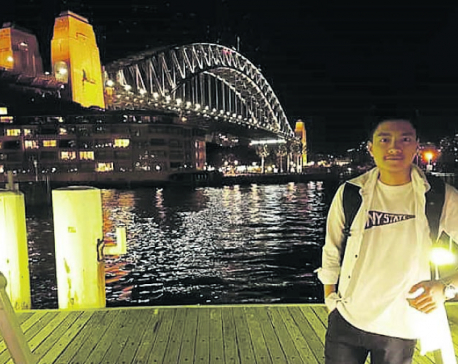 From Nepal to Sydney, not an easy ride
