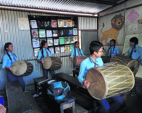 Bhaktapur locals gear up for Gaijatra