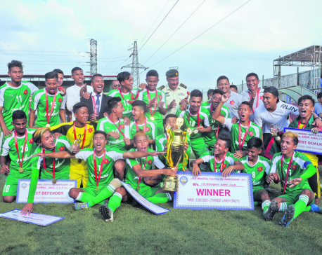 Army retains Lalit Memorial U18 title
