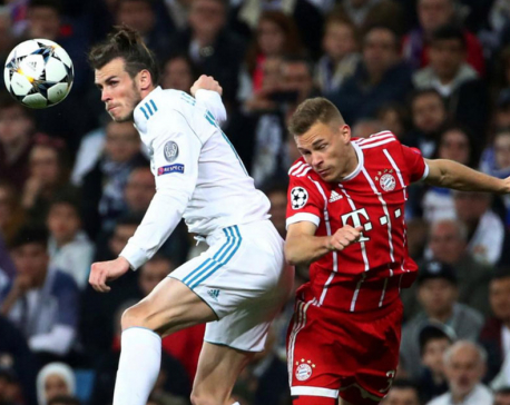 Real see off Bayern to reach third straight Champions League final