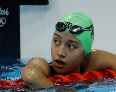 Gaurika crashes out, fails to meet national record