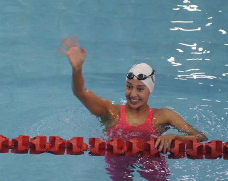 Gaurika sets new national record, fails to qualify for next round