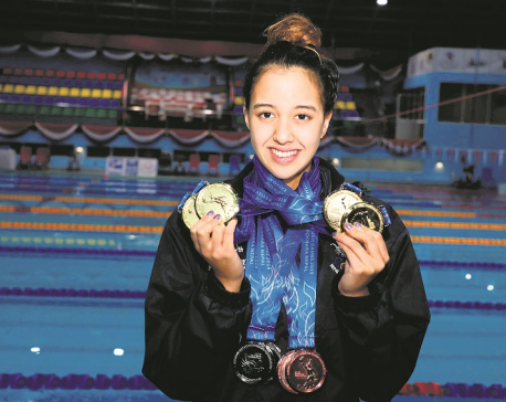 Gaurika bags record fourth gold
