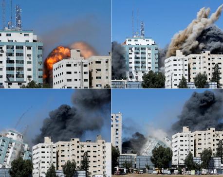 Israel air strikes kill 26 Palestinians, rockets fired from Gaza