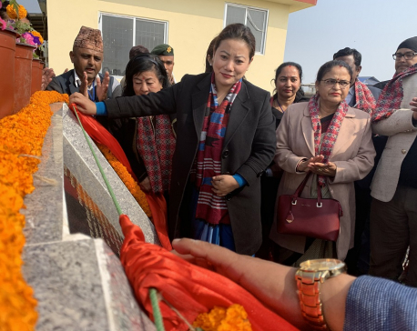 Minister Magar inaugurates faecal sludge treatment plants in Jhapa
