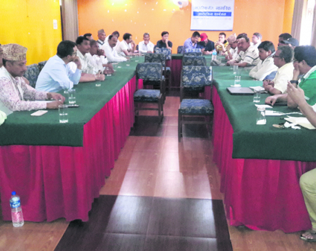 Bardiya locals' priority embankment, road connectivity, infra devt