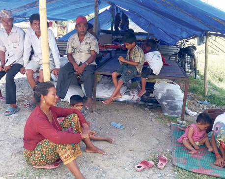 After gloomy dashain, flood victims worry over prospect of cold winter