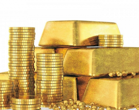Gold price up by Rs 900 per tola
