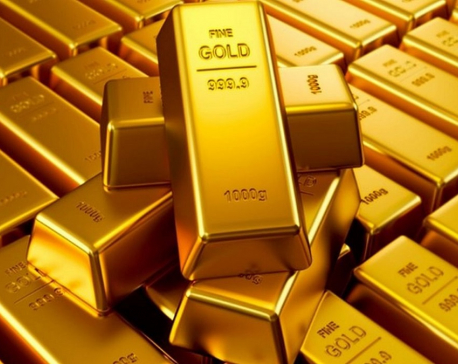 Gold price up by Rs 500 per tola in local market