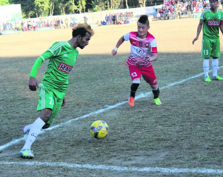 Sahara advances into semifinal in Hetauda