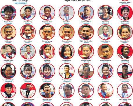 PM Oli announces cash prize for all Nepali SAG medal winners; Gold