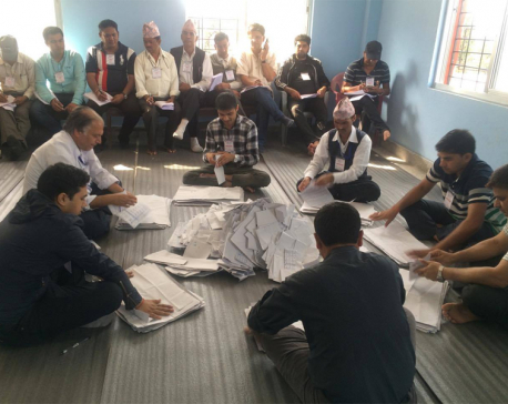 Vote counting begins in 2 local levels in Gorkha