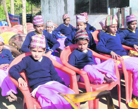 A Gurukul struggling against odds in Gorkha