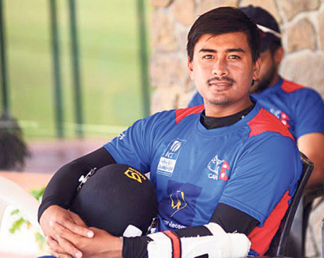 Malla's first T-20 century leads Nepal to 236 against Bhutan