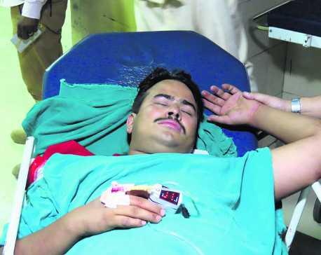 Anti-corruption activist Gyanendra Shahi thrashed in Chitwan
