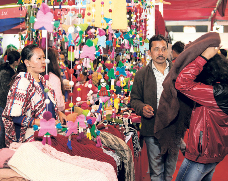 Handicraft fair attracts 25,000 visitors on second day