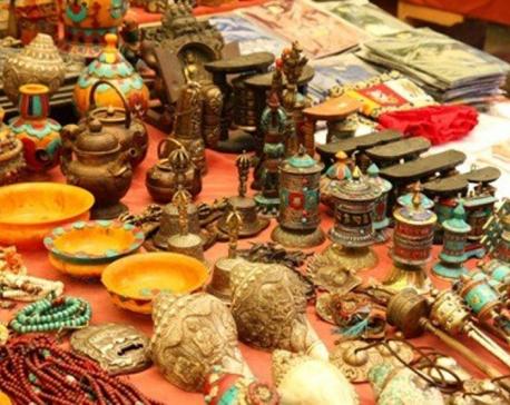 Nepali handicraft exhibition in Kerung
