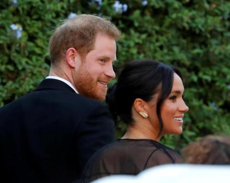 Prince Harry, Meghan, Ivanka Trump attend designer's Rome wedding
