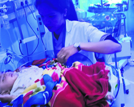 Six-month-old baby waits for mother recently killed