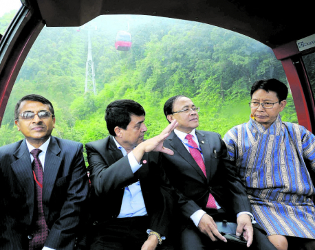 BIMSTEC foreign ministers visit Chandragiri Hills