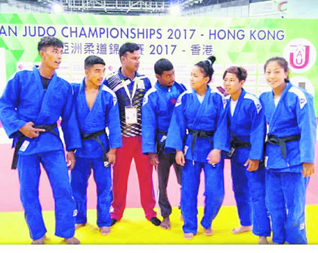 Historic win for Nepal in Asian Judo Championships