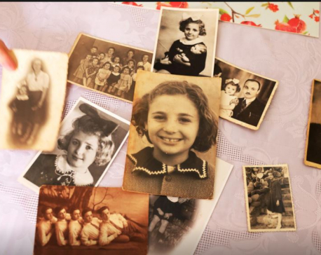 For one survivor, Holocaust memories live on only in faded photos