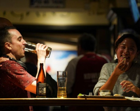 Vaccinated Hong Kong residents ready to party till 2 a.m. curfew as bars reopen