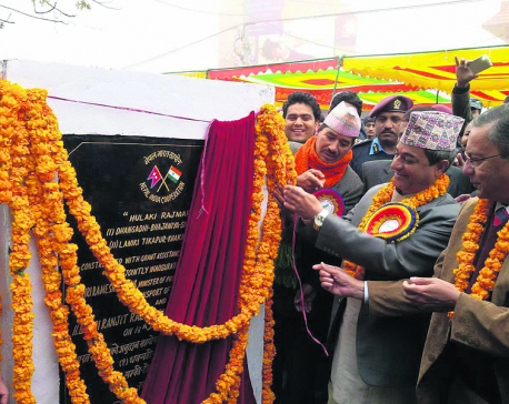 Two incomplete sections of Hulaki Rajmarga in Kailali inaugurated