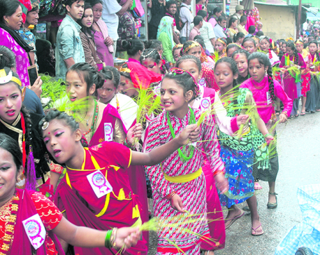 Charm of Ropain Jatra in Ilam